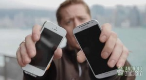 Samsung Galaxy S4-vs-iphone 5